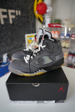 Load image into Gallery viewer, Jordan 5 Retro Off-White Black Sz 10.5