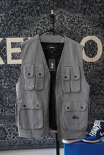 Load image into Gallery viewer, Stussy Utility Vest Sz L