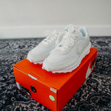 "Load image into Gallery viewer, LDWaffle  ""Sacai - White Nylon"" Sz 11.5"