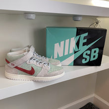 Load image into Gallery viewer, Nike SB Dunk Mid White Widow Sz 10.5