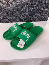 Load image into Gallery viewer, Nike Benassi Stussy Green Sz 11