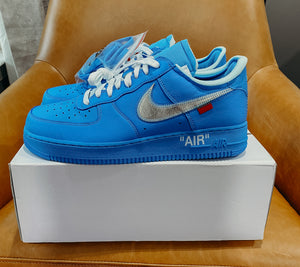 Nike Air Force 1 Low Off-White MCA University Blue Sz 11