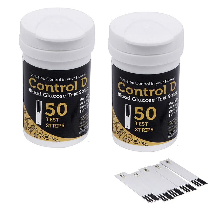 Glucose Test Strips (Control D-100 Count)