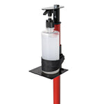 Dispenser Pump Bottle Floor Stand