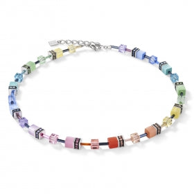 Coeur De Lion - Collier Multicolor pastell3  2838/10-1542