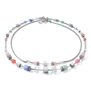 Coeur De Lion Collier Multicolor Pastell 1, 4 in one - 5007/10-1522