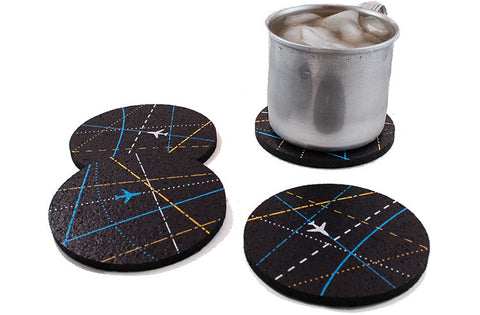 Flox 'Roger That' Rubber Coasters