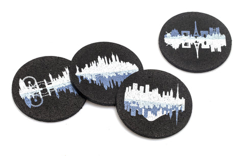 Flox 'Sojourney' Rubber Coasters
