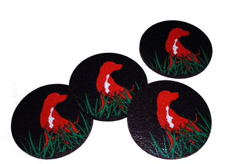 Flox 'Dog' Rubber Coasters