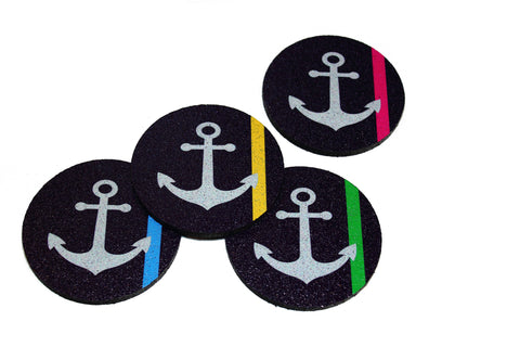 Flox 'The Fun in Fund' Rubber Coasters