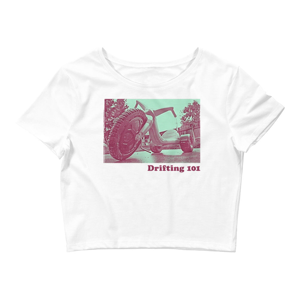 Drifting 101 Women's Crop Tee
