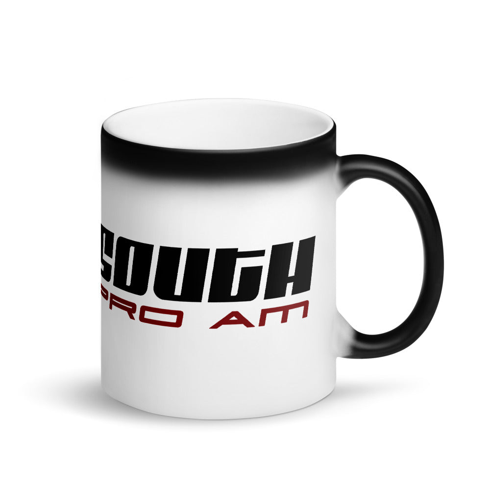 Drift South Matte Black Magic Mug