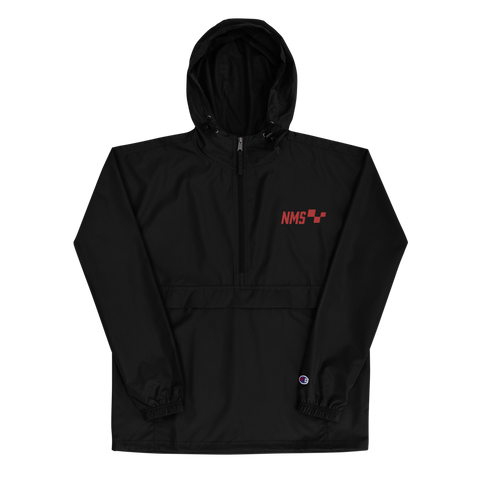 NMS Boxes Logo Embroidered Champion Packable Jacket
