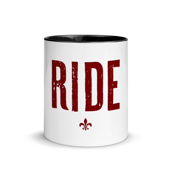 Ride Mug with Color Inside