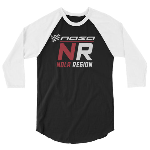 NASA 3/4 sleeve raglan shirt