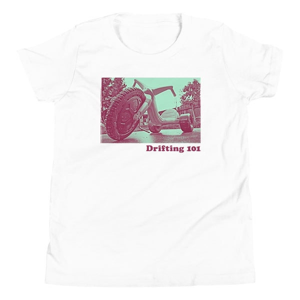Drifting 101 Youth Short Sleeve T-Shirt