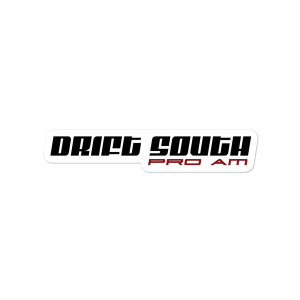 Drift South Pro Am Sticker - Flat