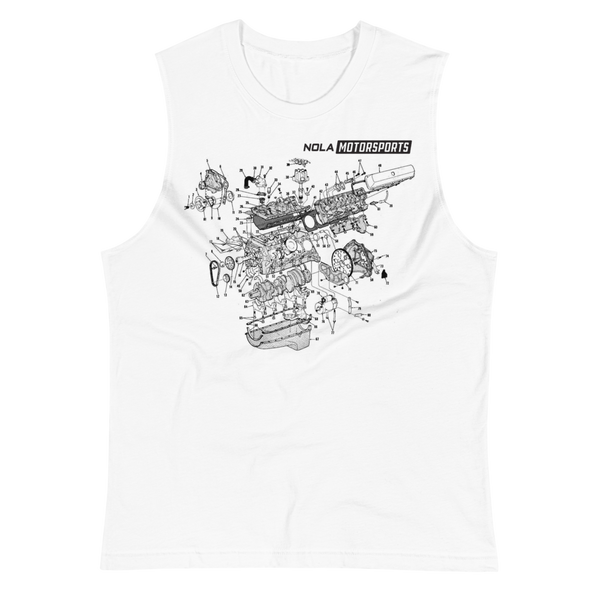 """Put it Together"" Muscle Shirt"