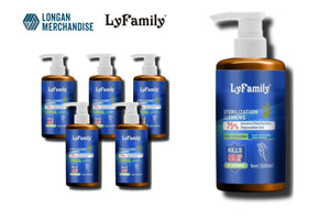 [LyFamily] 500mL / 16.9 oz Hand Sanitizing Gel with Moisturizer