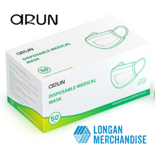 Load image into Gallery viewer, [Arun] 50 pcs Disposable Medical Mask 99% Filration