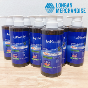 Bundle 2: Family Size Pack Hand Sanitizer Gel (RV: $120)
