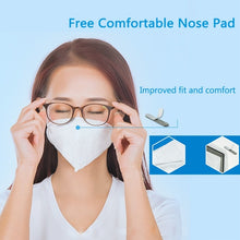 Load image into Gallery viewer, [Greencare] 6 pcs KN95 Particulate Respirator