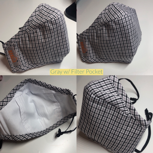 Reusable Washable Cotton Activated Carbon Filter Non-medical Masks