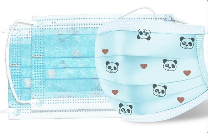 [KBR] 10pcs Children Disposable Surgical Masks