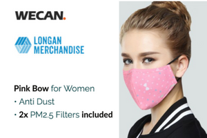 [WeCan] Cotton Mouth Masks with Activated Carbon Filter