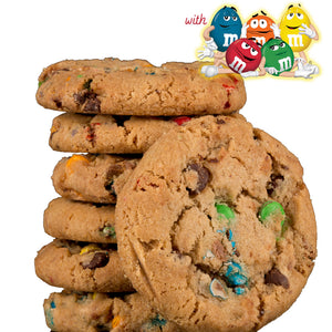 M&M Chocolate Chunk Jumbo 6 Oz Cookies 3-Pack