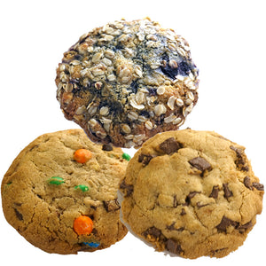 3 Piece Artisan Cookie Jumbo Sample Pack