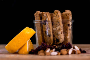 Orange Cranberry Almond Biscotti