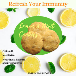 Lemon and Mint cookies
