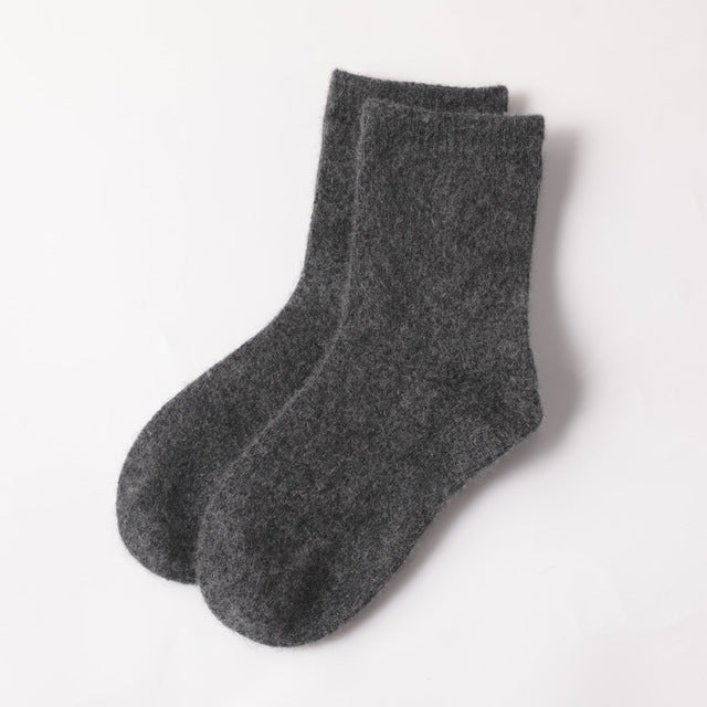 100% Superfine Merino Cashmere Children's Winter Warmer Socks  (ONE SIZE FITS ALL 1-16 YEARS) - FREE SHIPPING -