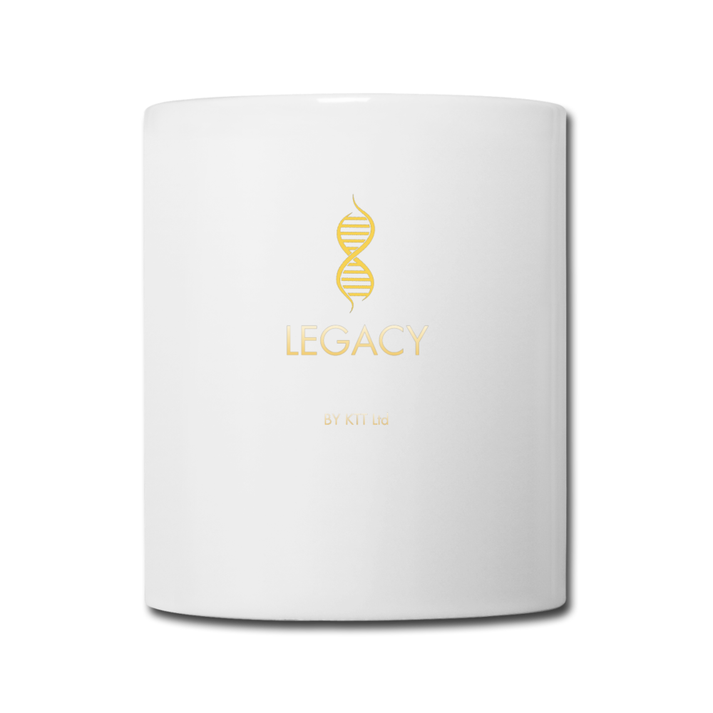 Legacy by KTT  'Bunneration Nation'  White Coffee / Tea Mug - white
