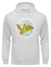 Into the Ocean - Unisex Organic Hoodie - Vision4Planet