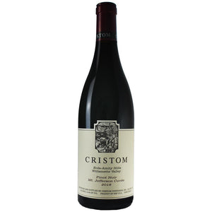 "2018 Cristom ""Mt Jefferson"" Pinot Noir, Eola-Amity Hills, Willamette Valley-Cuvee-Wine-Society"