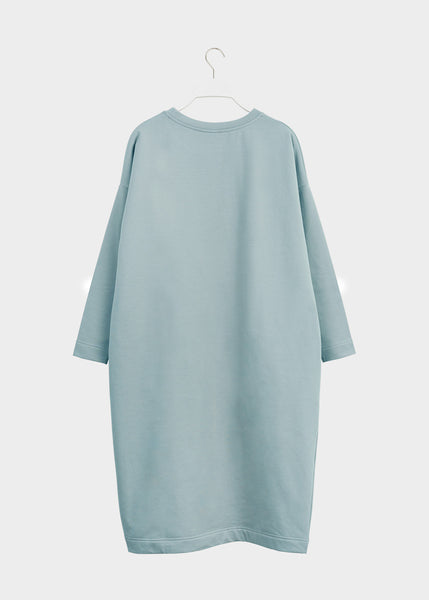 GIANT SPLIT DRESS, Muted Green, Women