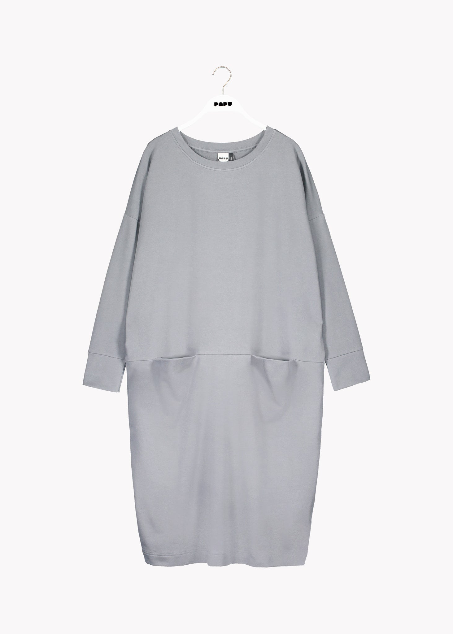GIANT SPLIT DRESS, Light Grey, Adults