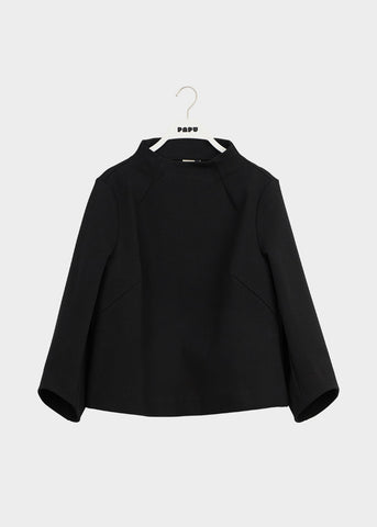HEXACON BLOUSE, Black, Women