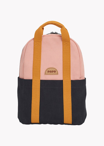 MINI KIVI BACKPACK, MULTICOLOR POWDER PEACH, BLACK, OCHRE