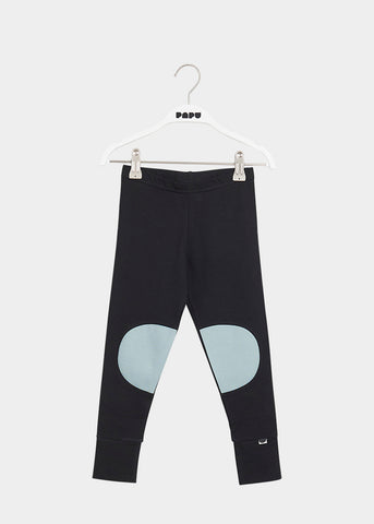 PATCH LEGGINGS, Black/Muted Green
