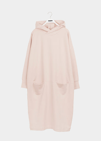 GIANT HOODIE DRESS, Rose, Women