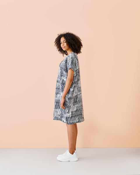 LINEN DRESS, Sound Waves, Adults