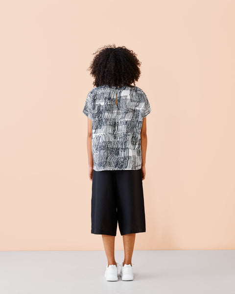 LINEN SHIRT, Sound Waves, Adults