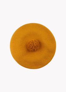 POM POM BERET, Earth Brown