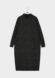 TURTLE GIANT SPLIT DRESS, Mini Beans, Women