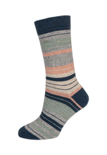 Load image into Gallery viewer, Nativeworld Striped Sock NX731