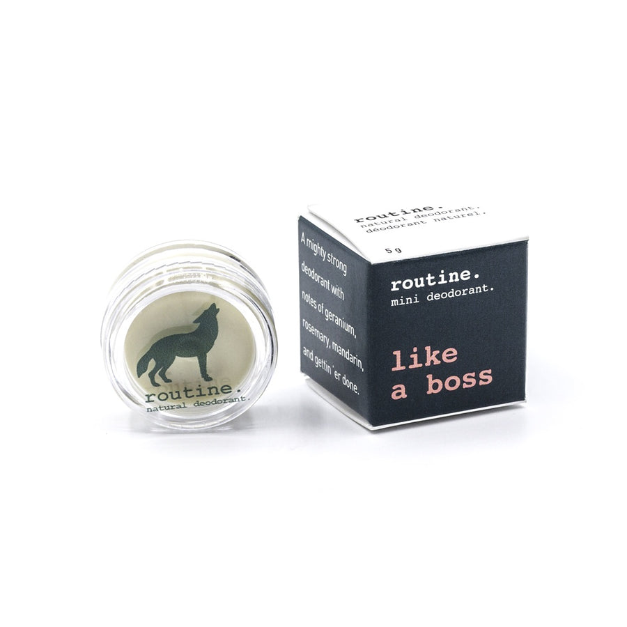 Like a Boss Routine Natural Deodorant Mini