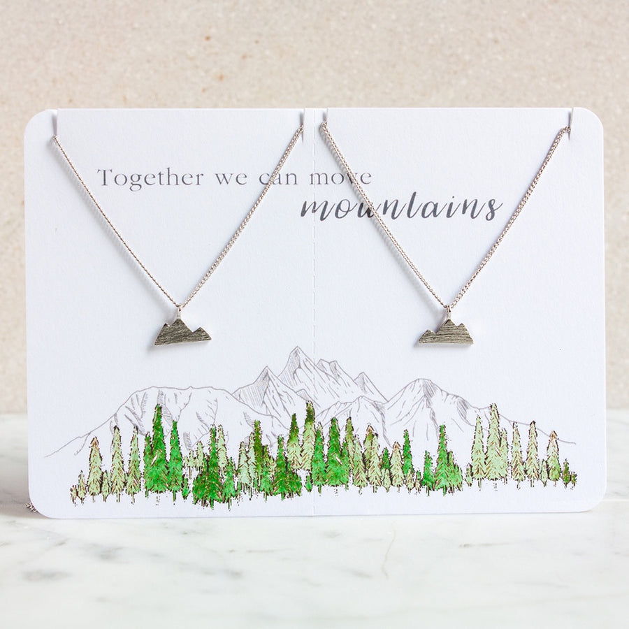 Move Mountains Necklace Set